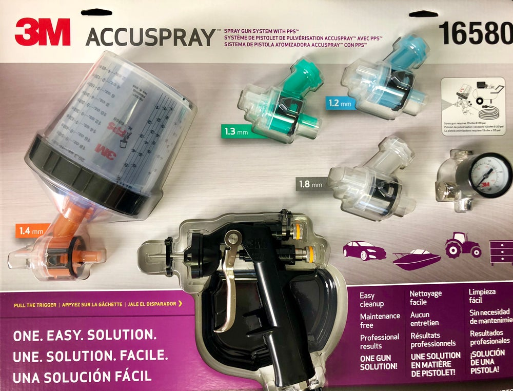 3M Accuspray Paint Spray Gun System