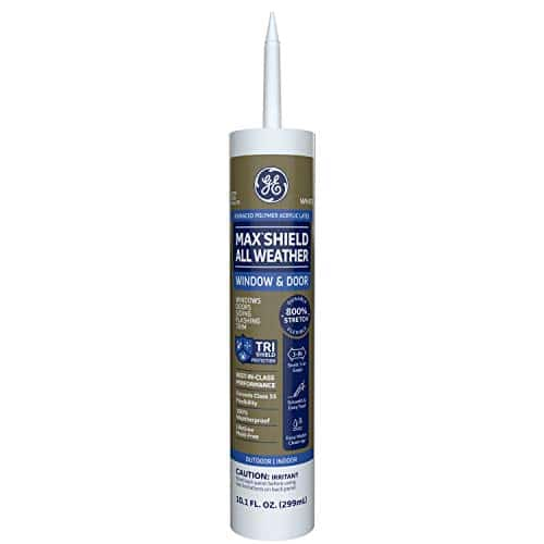GE Sealants Max Shield All Weather Siliconized Acrylic Latex Sealant Caulk