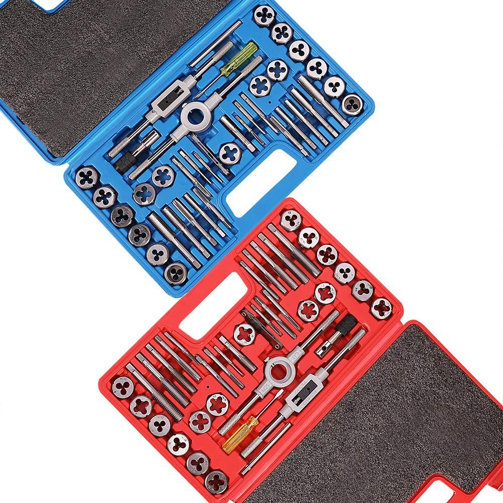 Orion Motor Tech SAE & Metric Tap and Die Set 80pcs