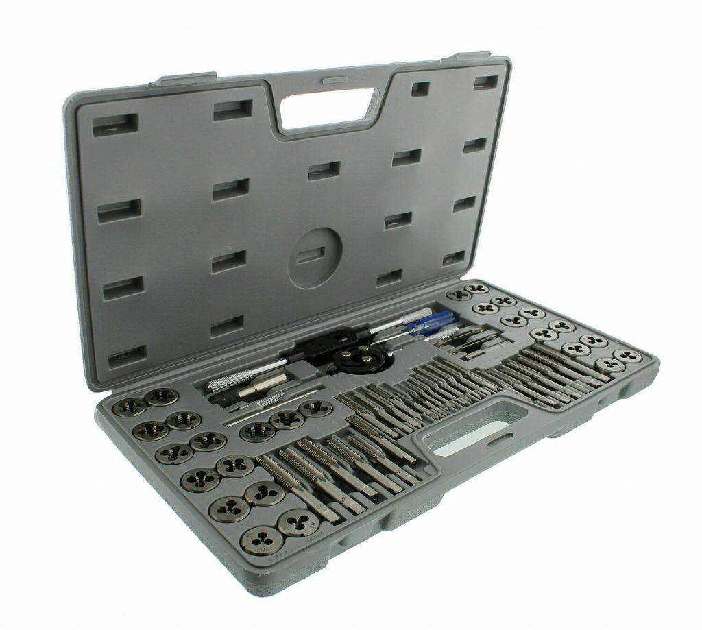 60 PCS Metric and Standard Tap Die Set Review